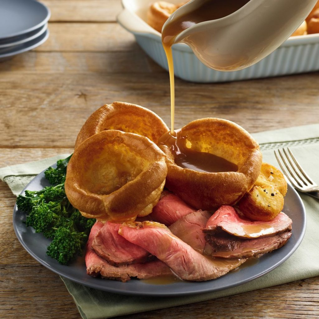 The perfect partner to your Yorkshire puddings