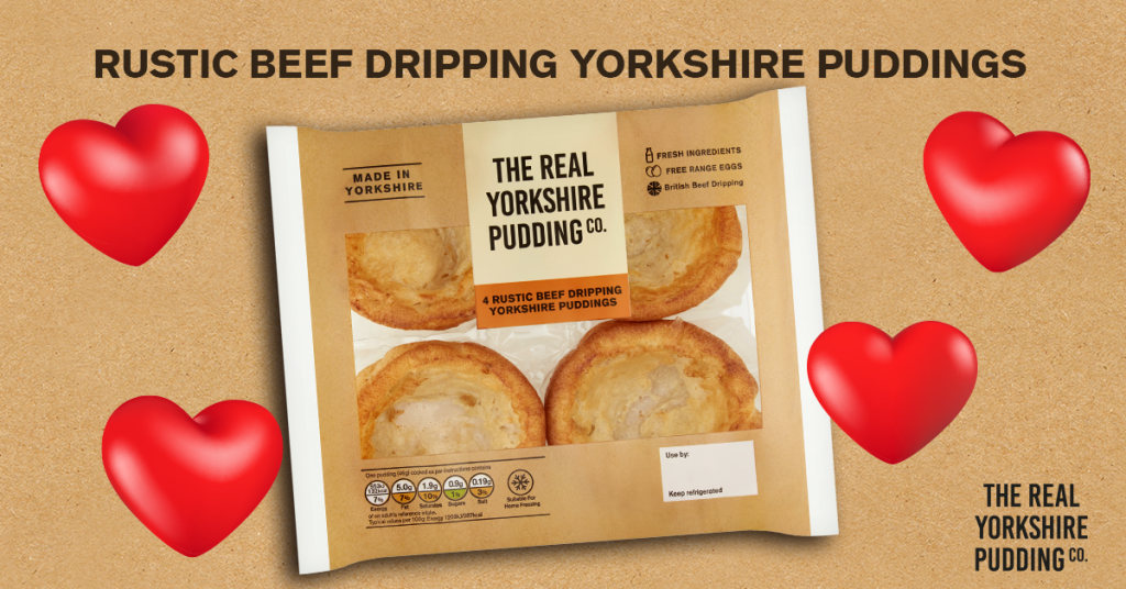 🚨 New Product Alert 🚨 Rustic Beef Dripping Yorkshire Puddings