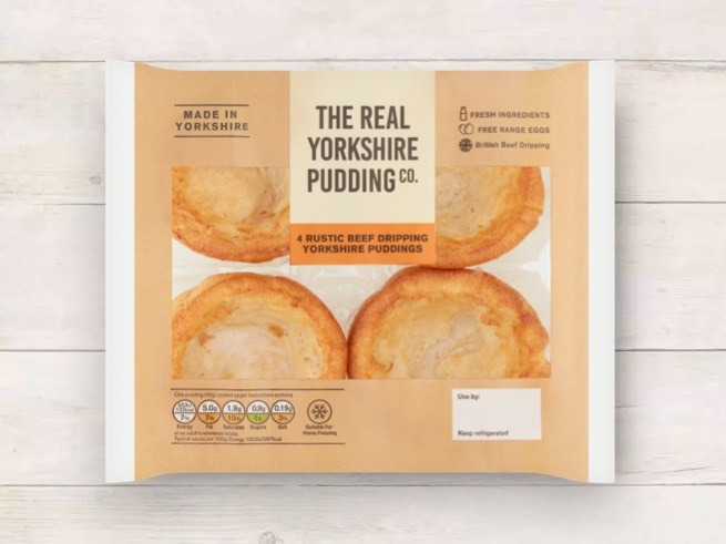 RUSTIC BEEF DRIPPING PUDS